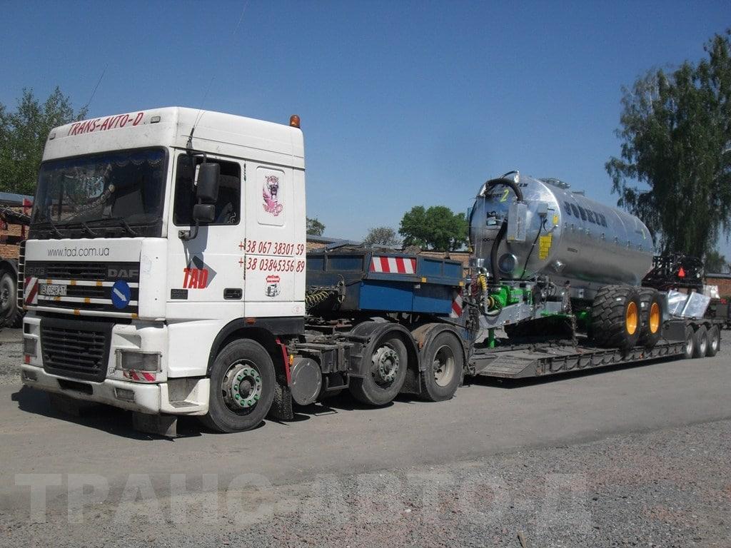 Fertilizer-transport