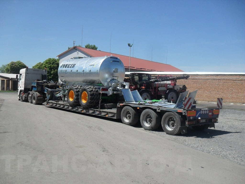 Transportation of containers for fertilizers Ukraine