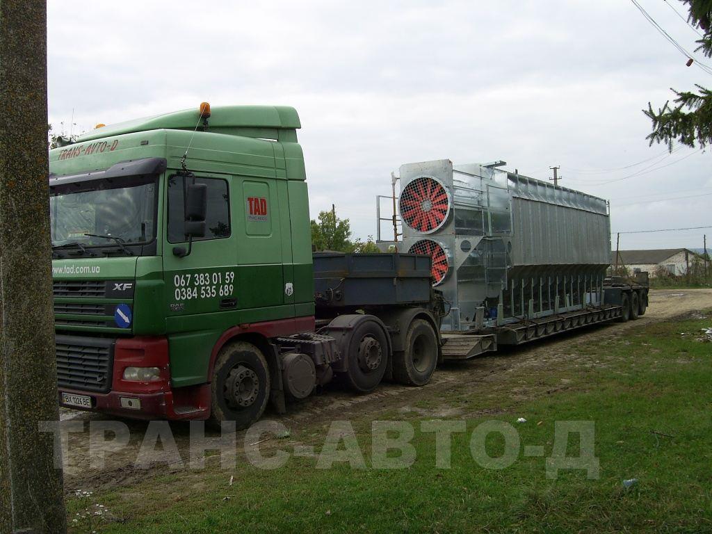 Transportation of industrial cargo - 3