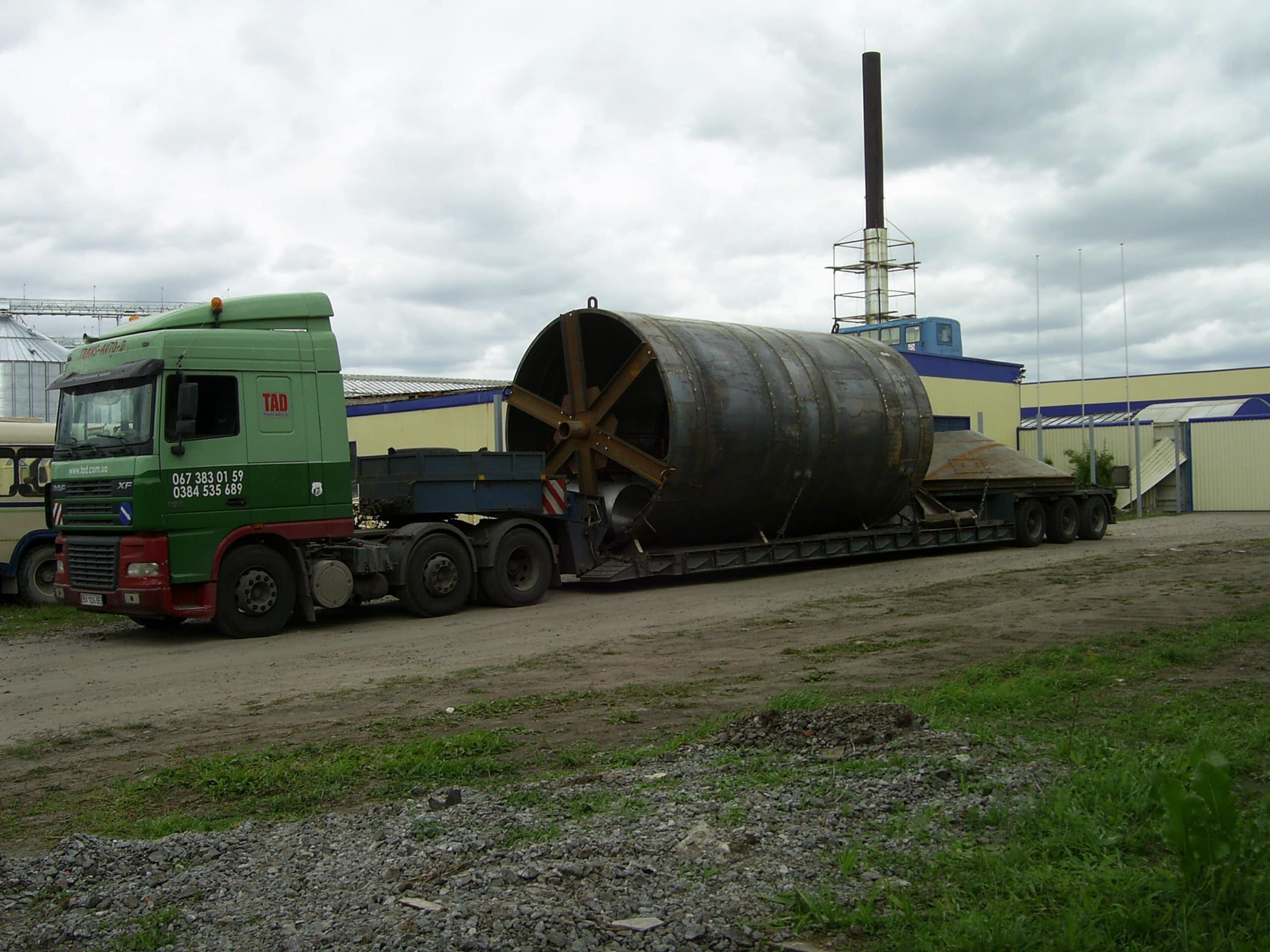Перевезення бочки по Україні -2
