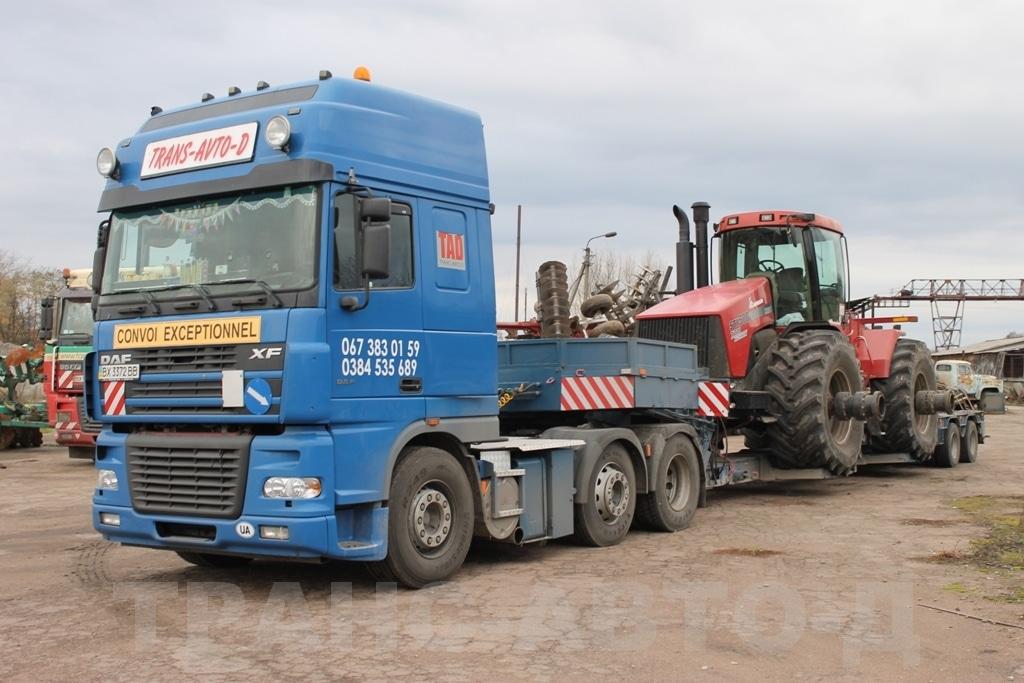 Перевозка трактора Case IH STX 500