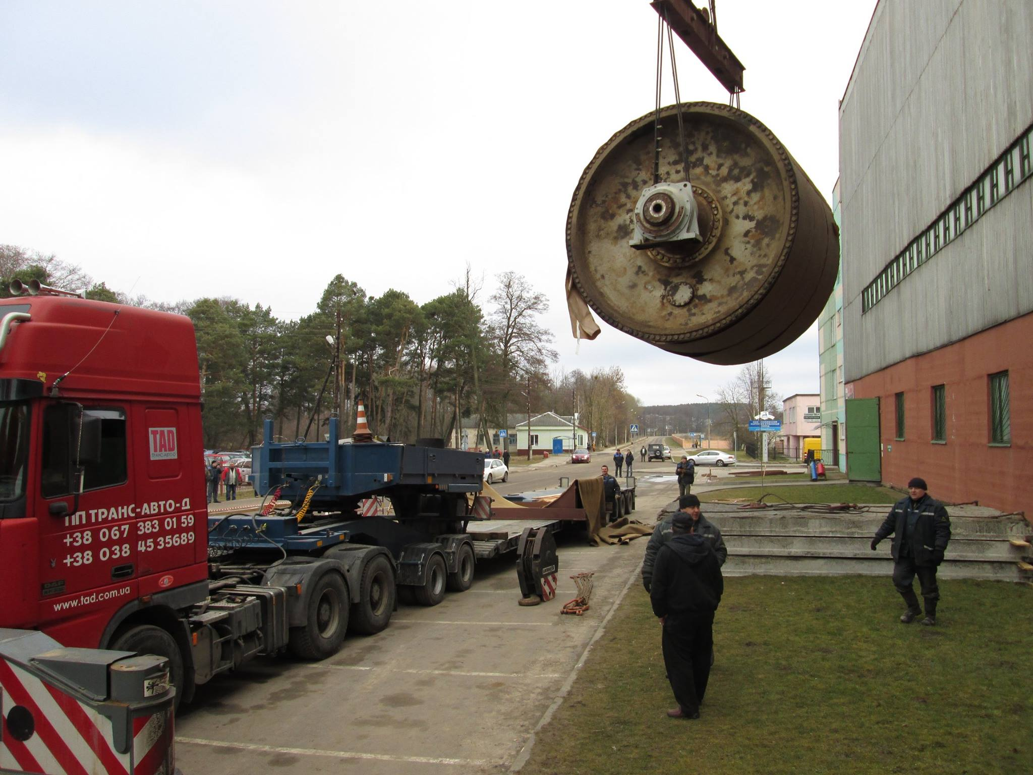 Transportation of industrial equipment from Belarus - 3