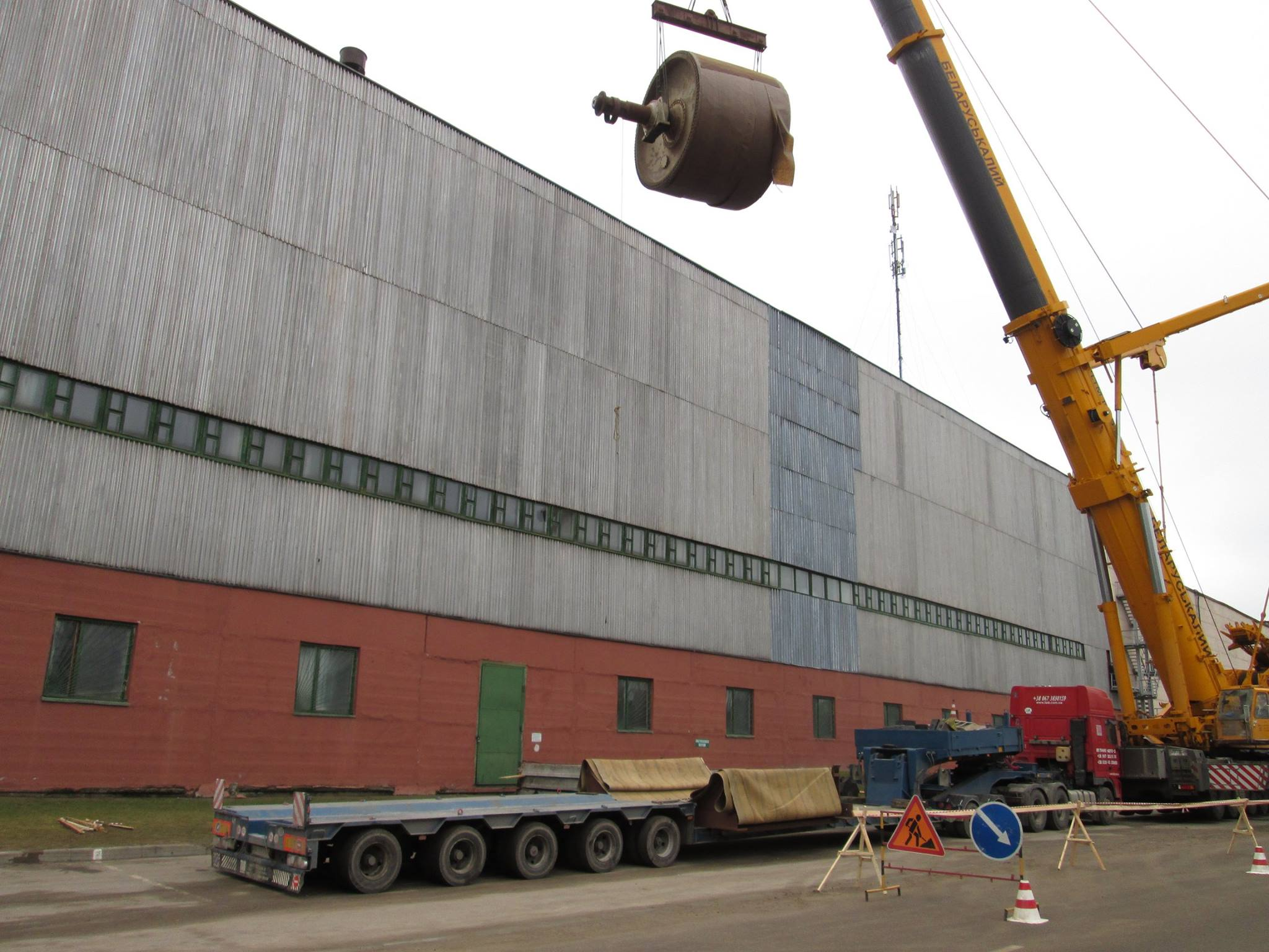 Transportation of industrial equipment from Belarus - 4
