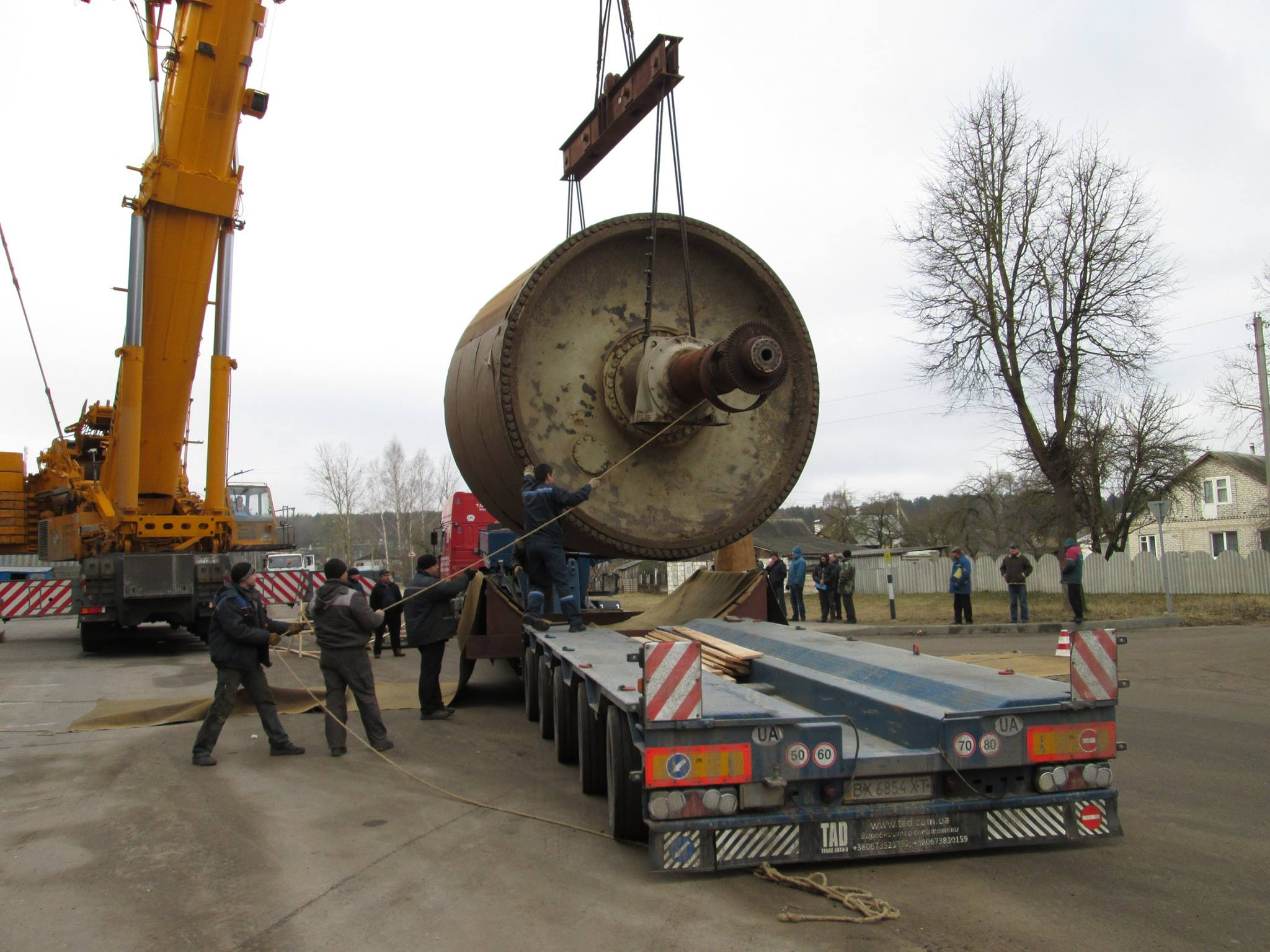 Перевозка промышленного оборудования с Белоруссии - 5