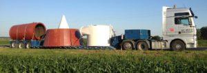 Негабаритные перевозки промышленного оборудования по Украине