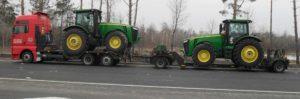 Негабаритные перевозки тракторов Украина, Европа, СНГ