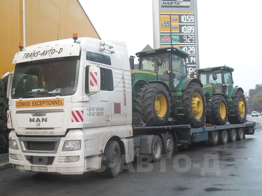 Перевозка тракторов Джон Дир - 2