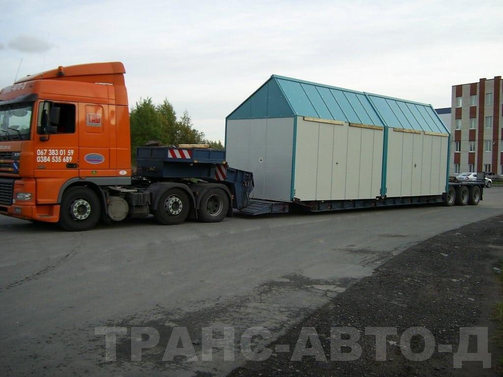 Oversized transportation St. Petersburg-Dnepropetrovsk