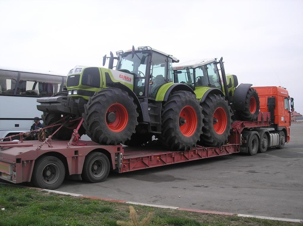 Перевозка тракторов Класс