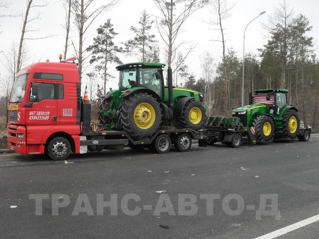 Перевезення тракторів Джон Дір -3