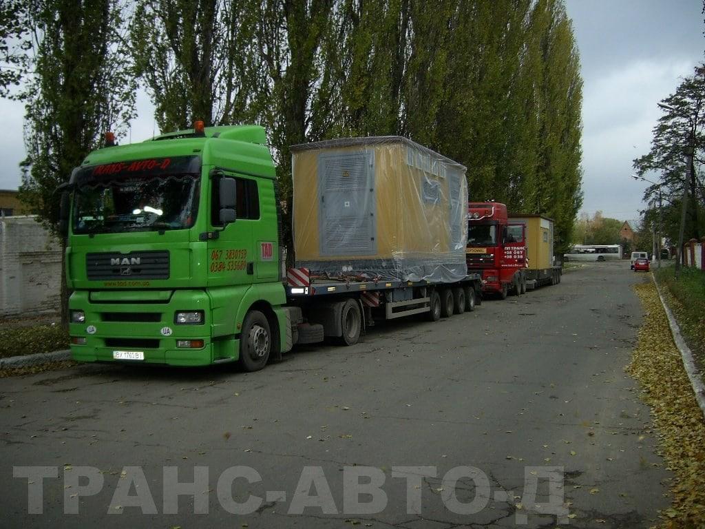 Перевозка трансформаторов Харьков