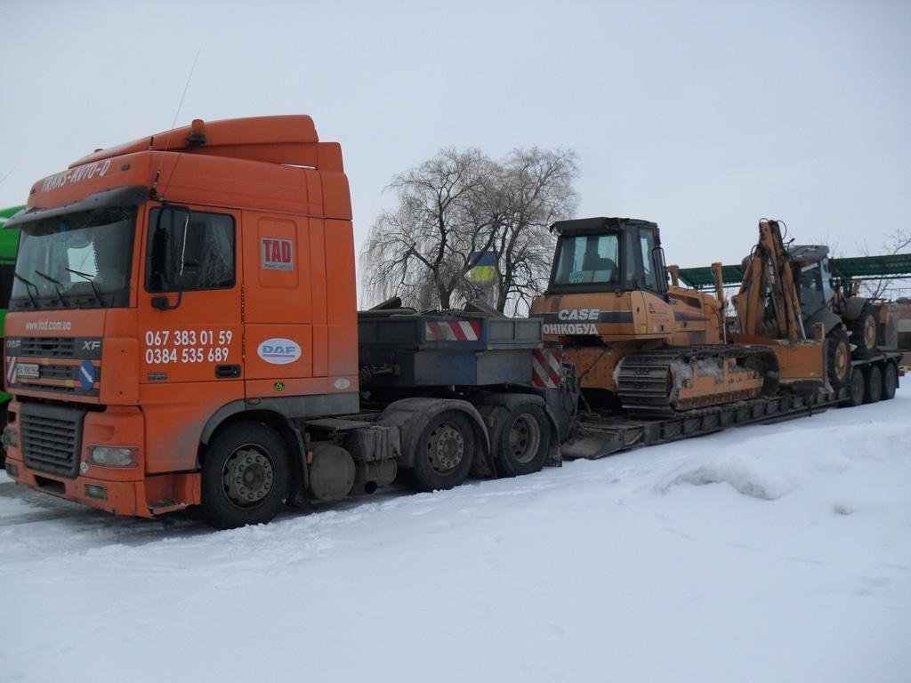 Перевозка-бульдозера-1650К-и-Case-695-super-F - 2
