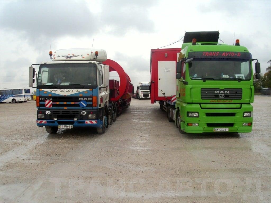 Перевозка-мобильного-мусороперерабатывающего-комплекса-Украина -2