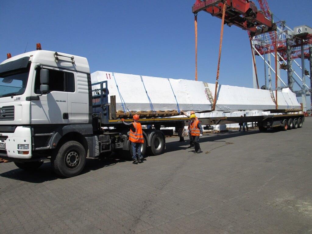 Transportation of long goods Kiev