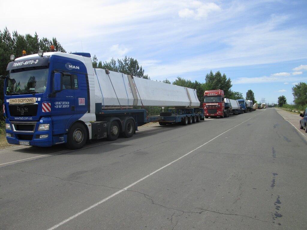Long cargo transportation