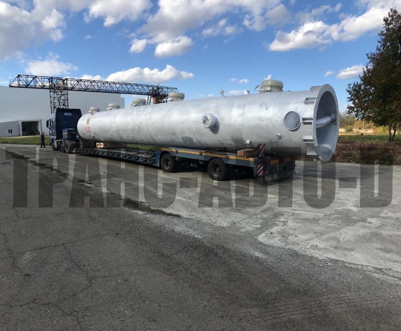Перевозка труб большого диаметра по Украине