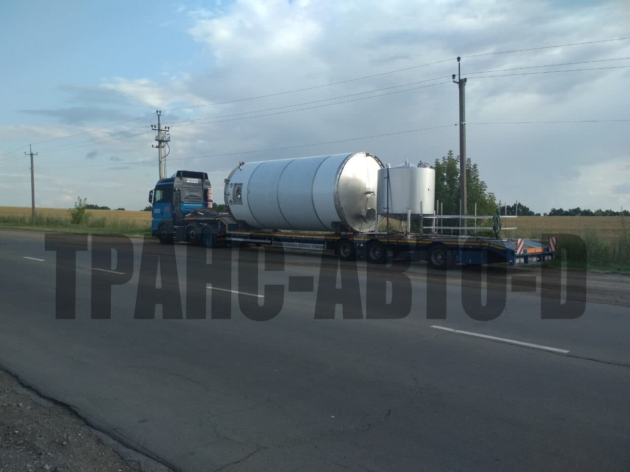Transportation of industrial equipment - 22