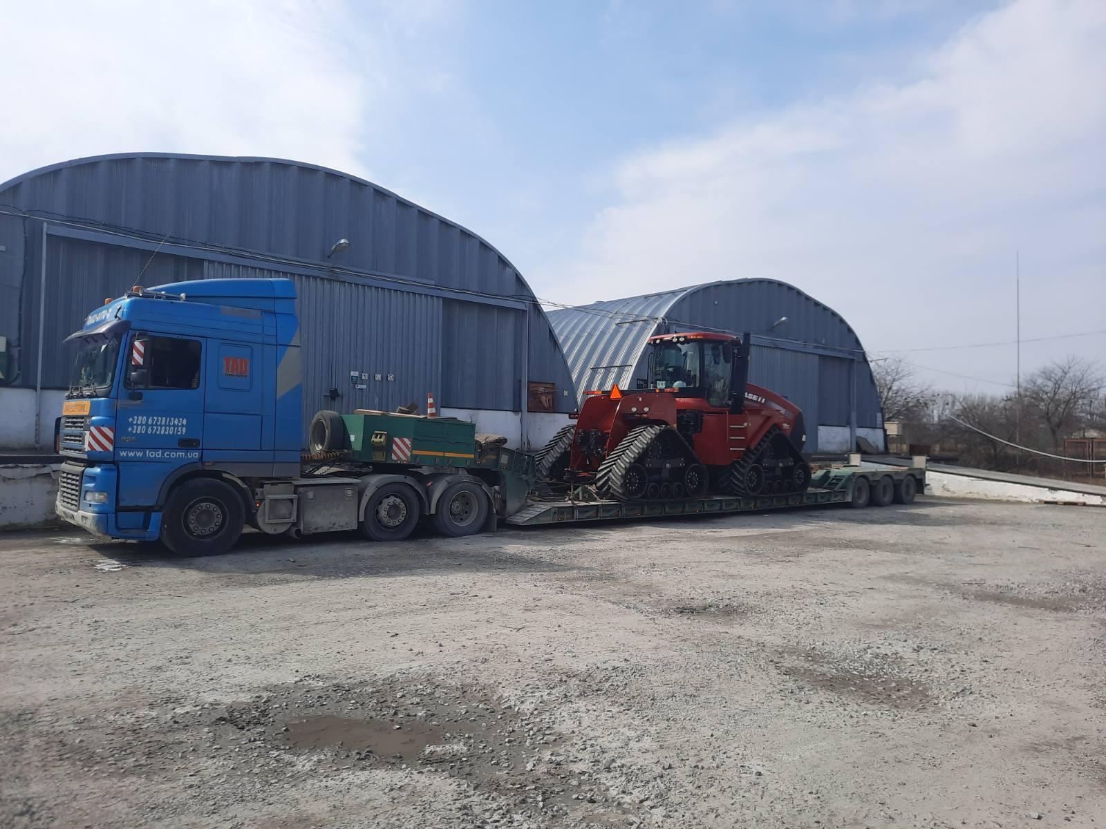 Перевезення трактора Case II