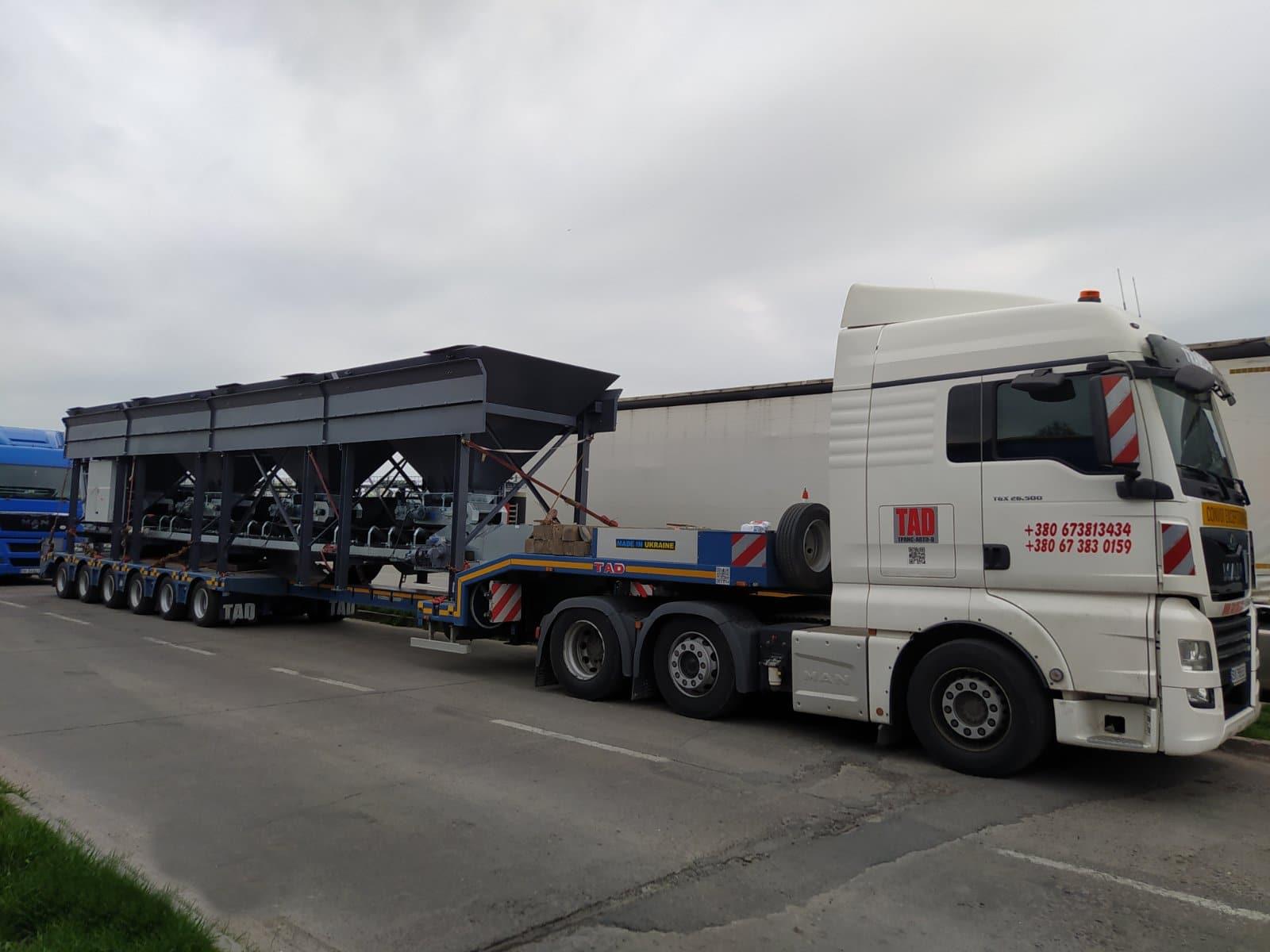 Транспортировка промышленного оборудования