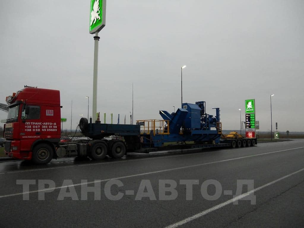 Transportation of industrial equipment - 20