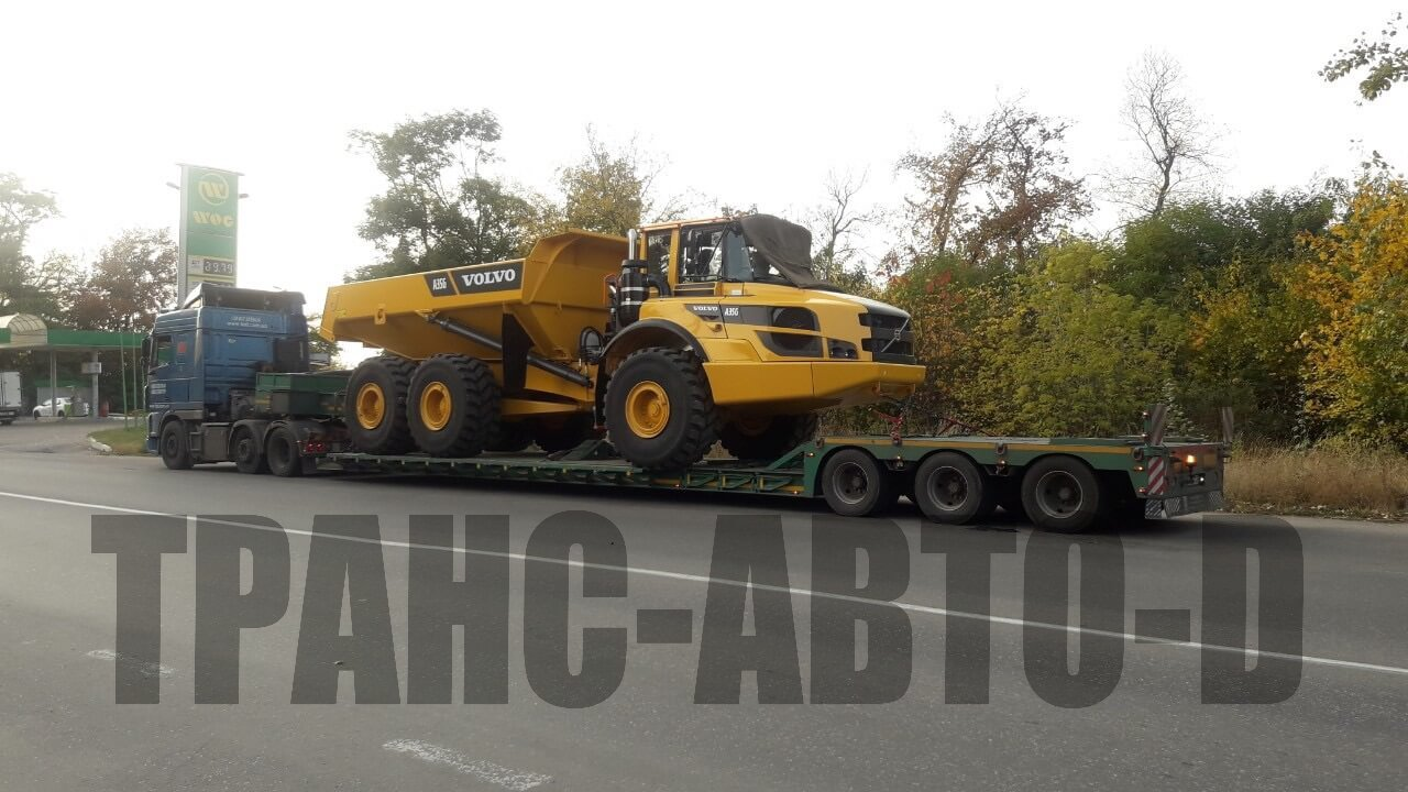 Transportation of mining equipment