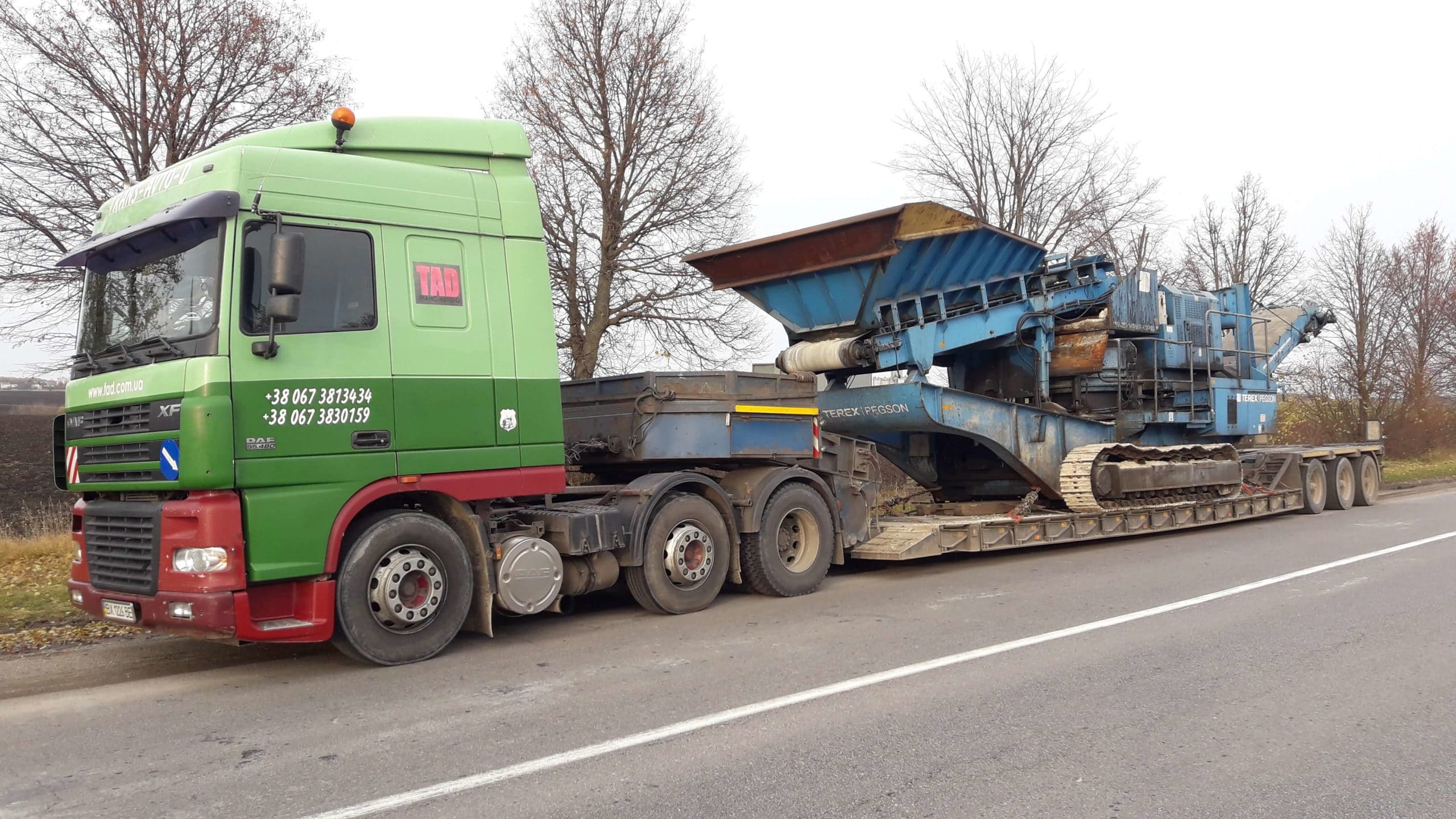 Transportation-crushing-machine-Terex-Pegson