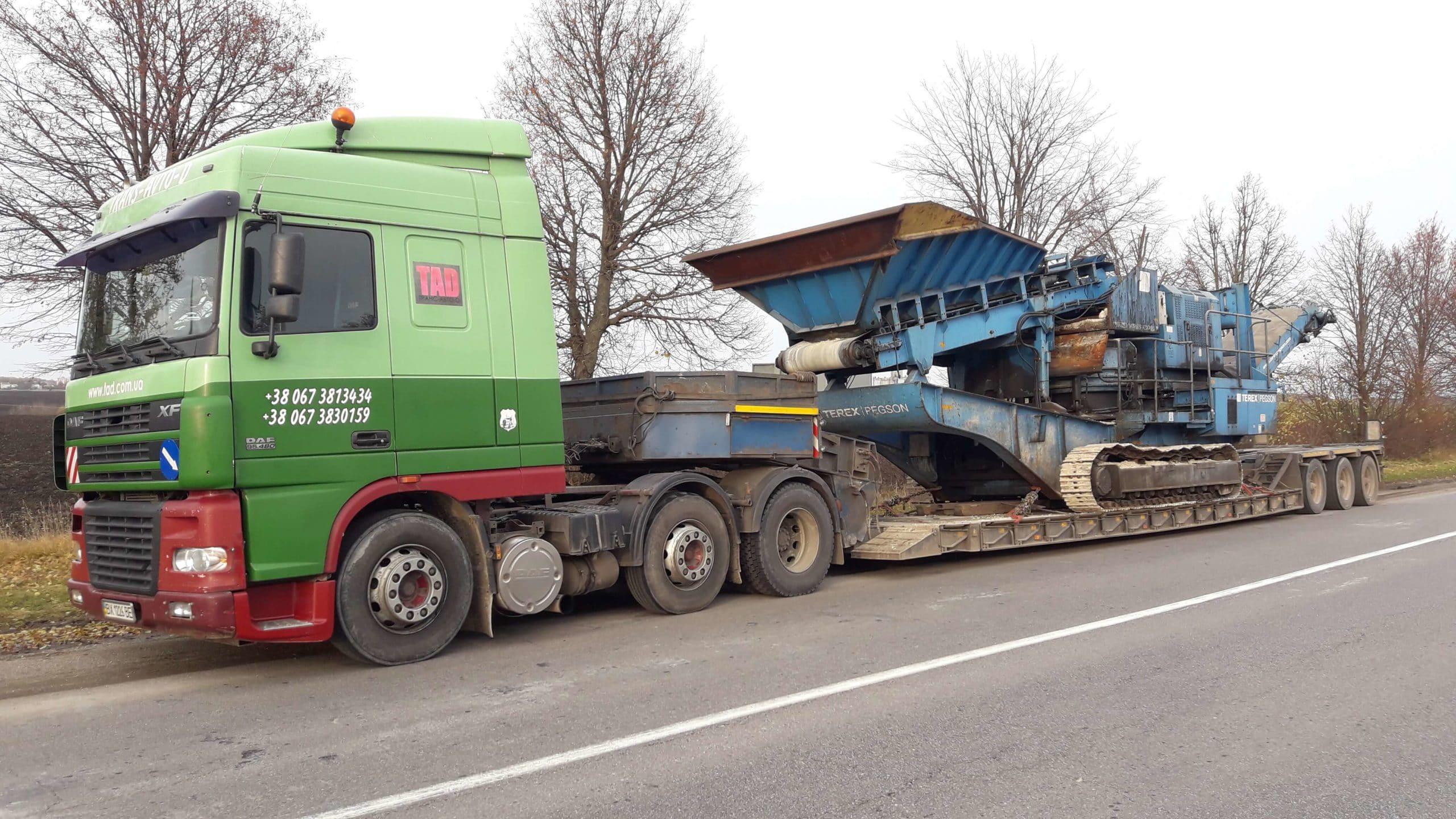 Перевозка-дробильної машини-Терекс-Пегсон