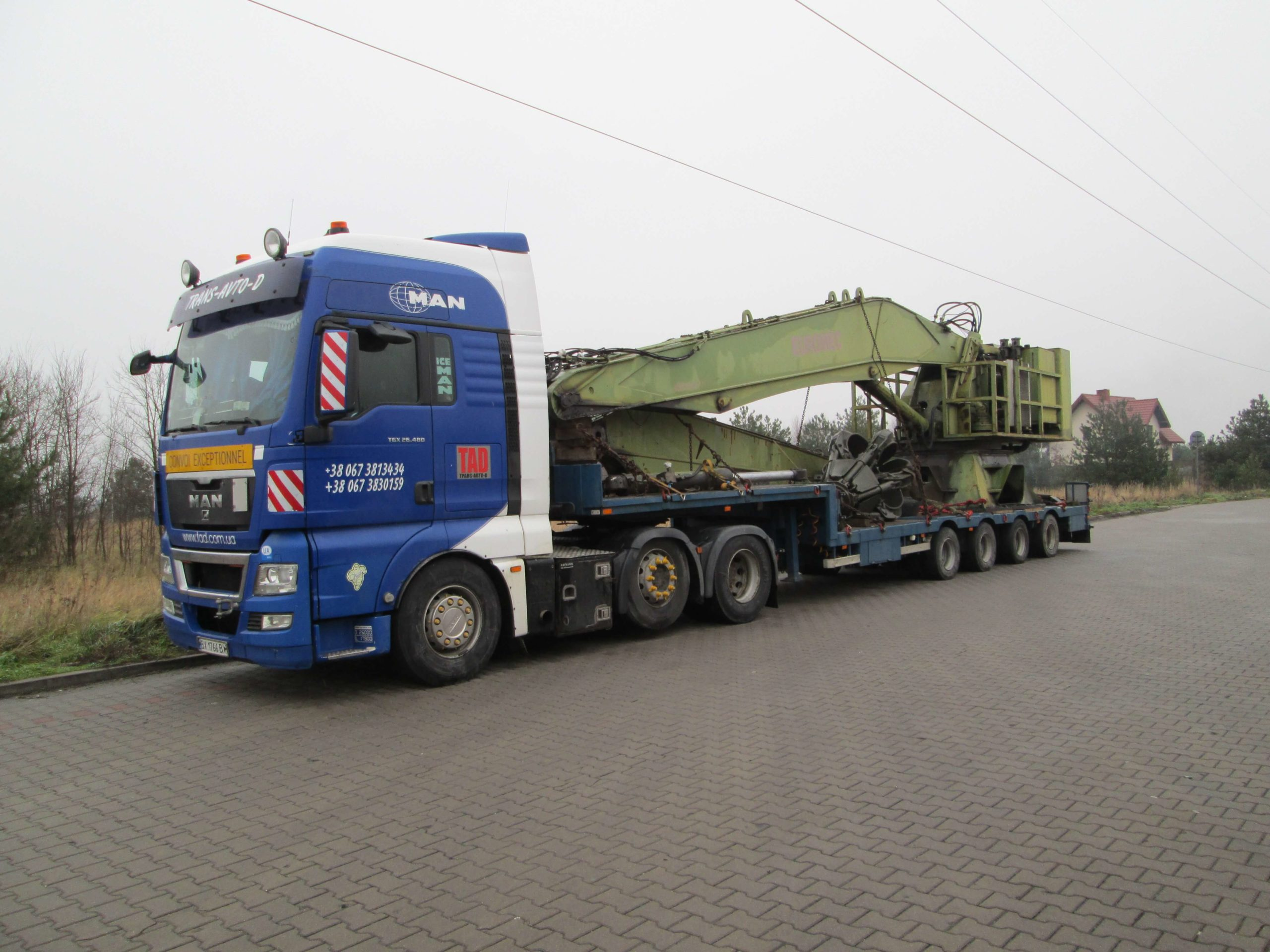 Transportation-of-scrap-loading-equipment
