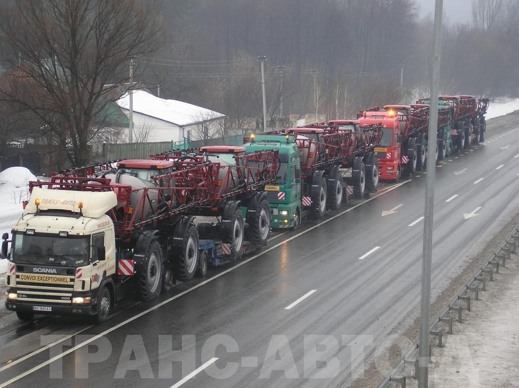 Перевозка-опрыскивателя-CASE-3330-Германия-Украина