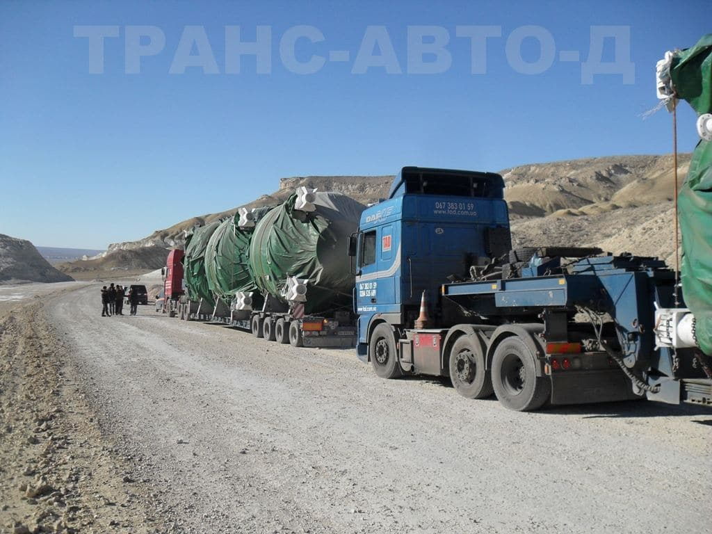 Transportation of industrial equipment - 8