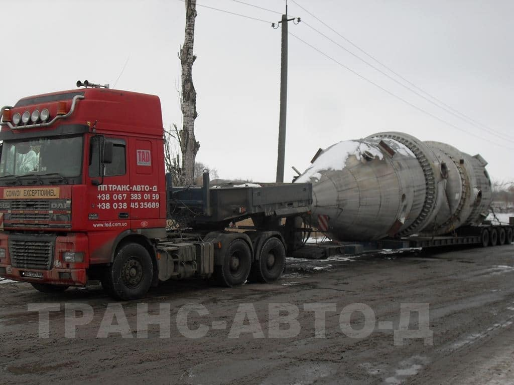 Transportation of industrial equipment - 7
