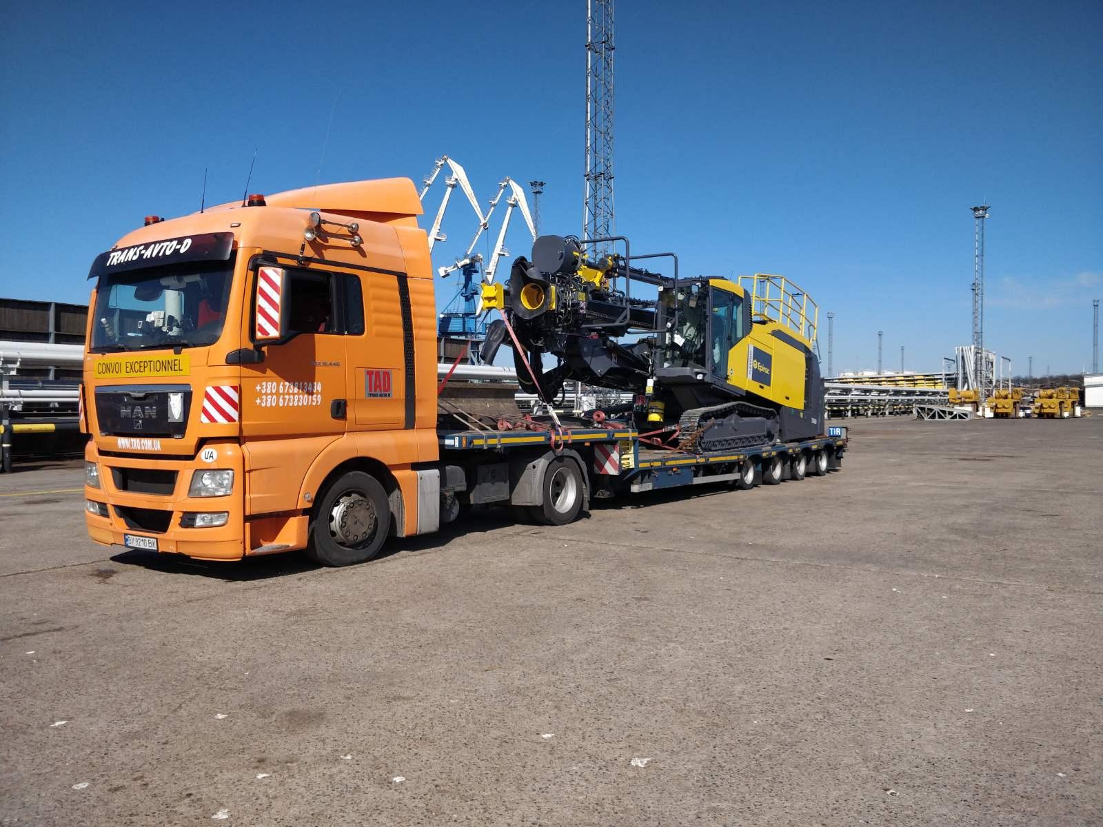 Перевозка промышленого оборудования