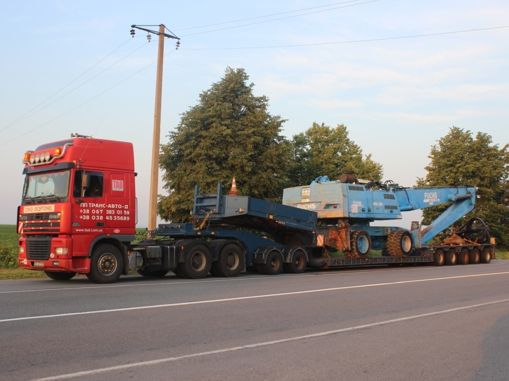 Transportation of industrial equipment - 25