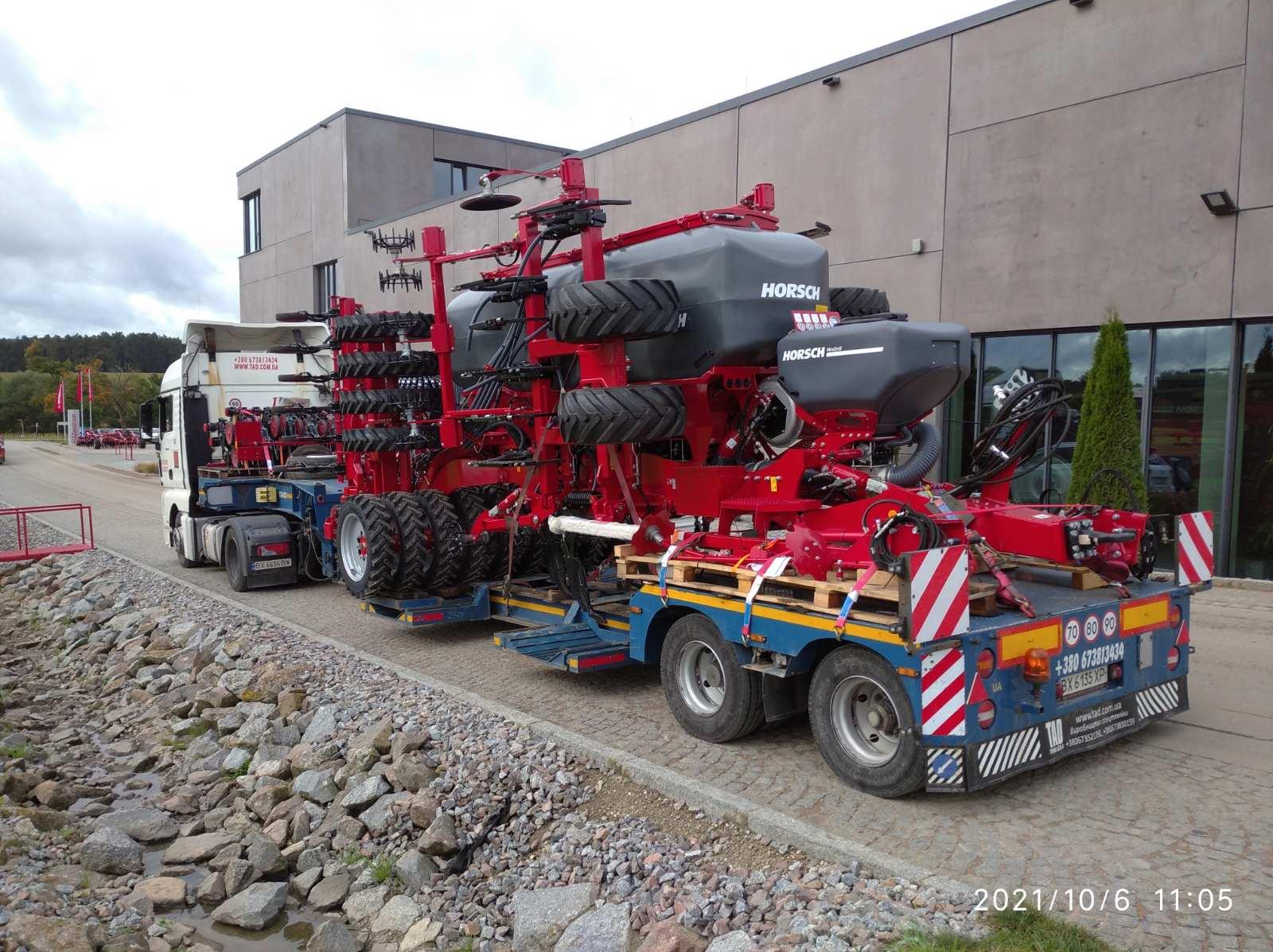 Перевозка сельхоз оборудования