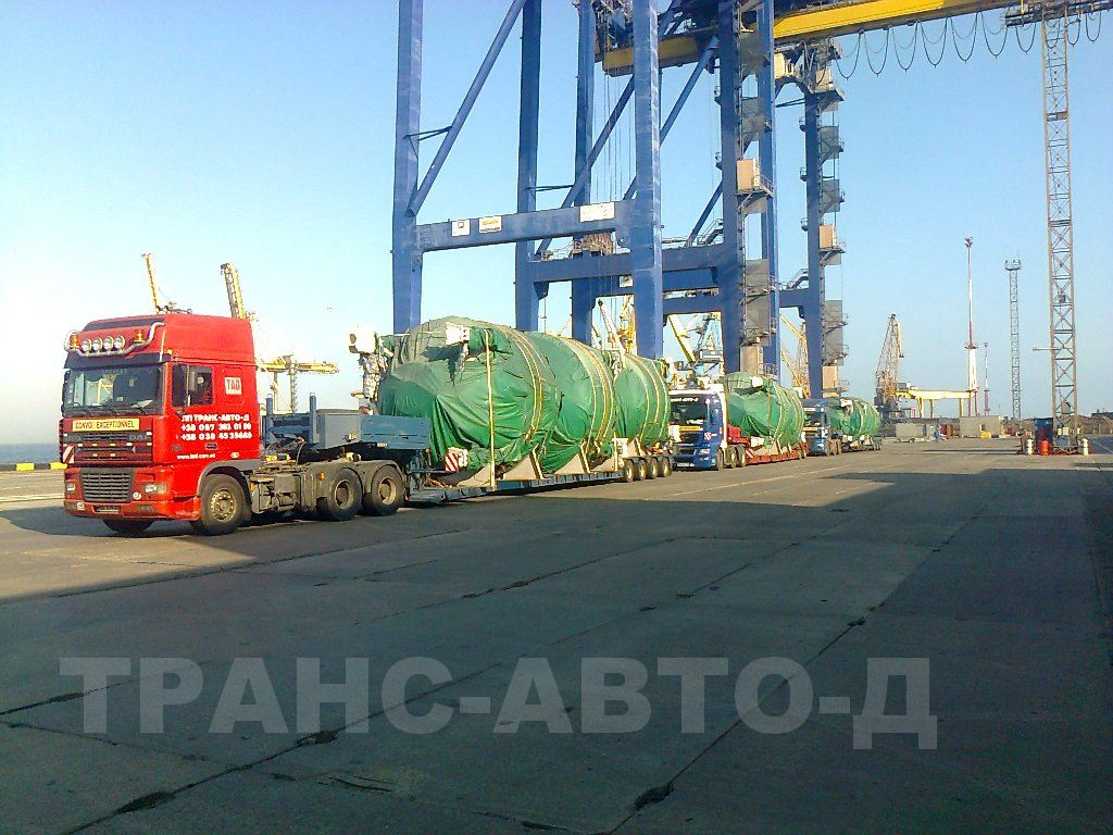Transportation of industrial equipment - 3