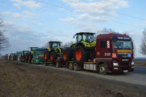 Перевозка тракторов CLAAS AXION 930 с Франции в Украину