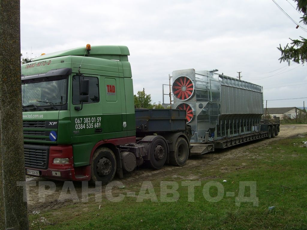 Transportation of industrial equipment - 9