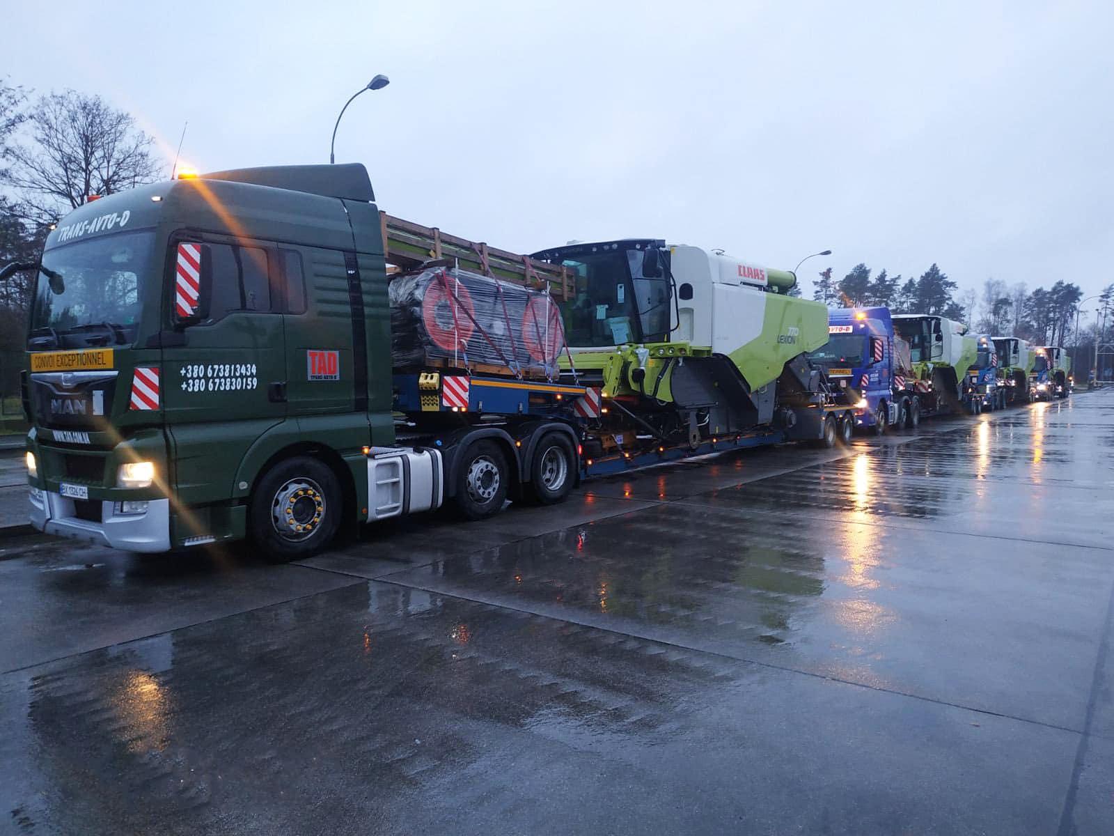 Перевезення комбайнів CLASS з Німеччини -2