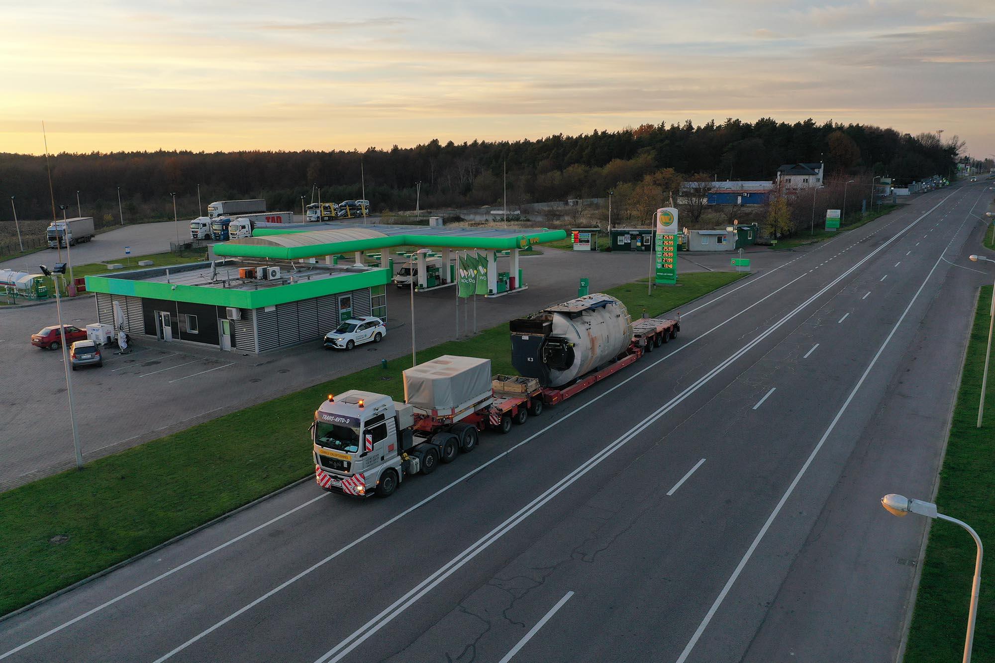 Transportation of industrial boiler equipment - 2